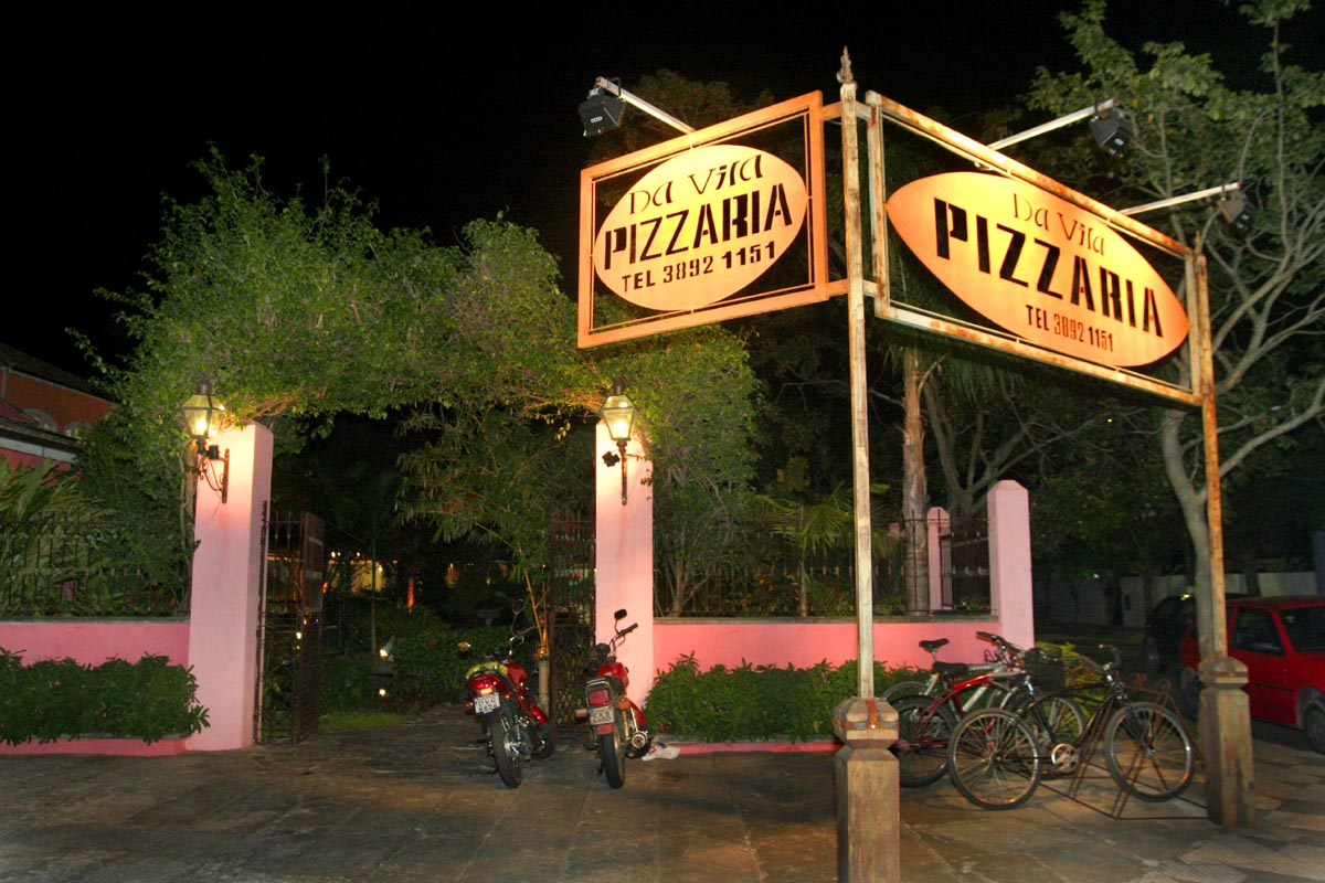 Pizzaria da Vila A5 - jornal