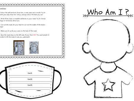 Who Am I Mask