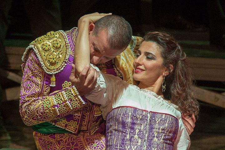 Carmen, Escamillo con G. Piunti