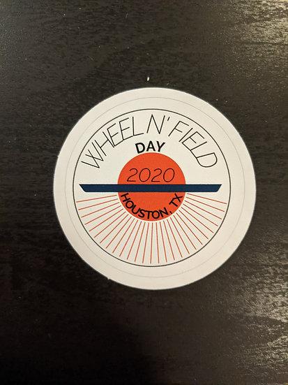 Wheel N' Field Day 2020 Sticker