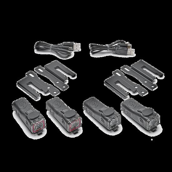 ShredLights SL-300/R1 Skateboard Combo Pack
