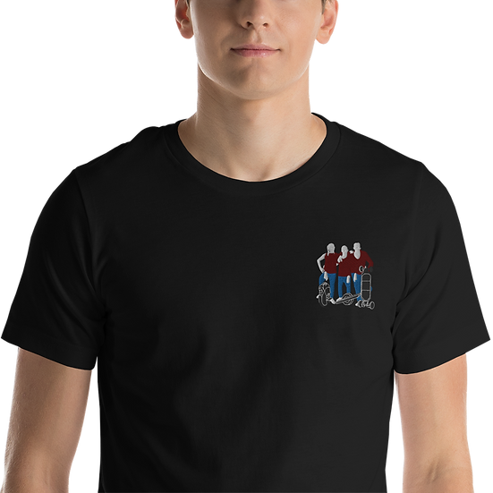 Embroidered AggiEboards T-Shirt