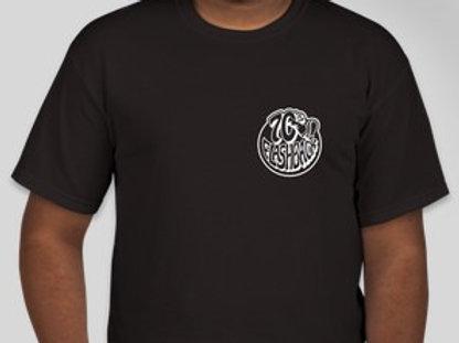 Black and White Logo Cotton Tee