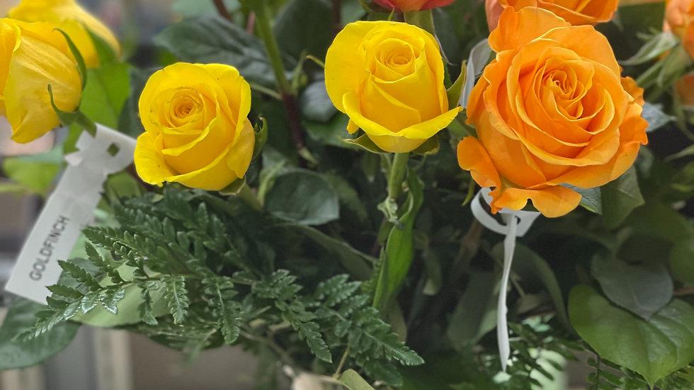 Two Dozen Rose Arrangement