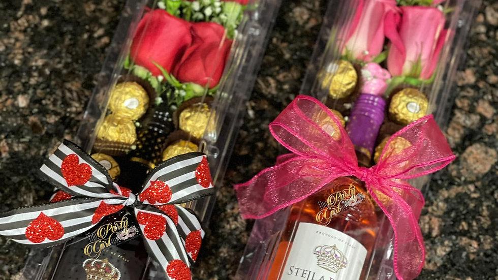 Wine, Rose & Berry Box