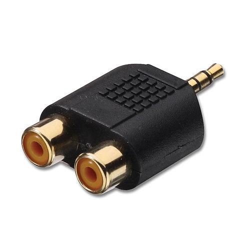 2 x RCA f-1 x JACK m 3.5mm