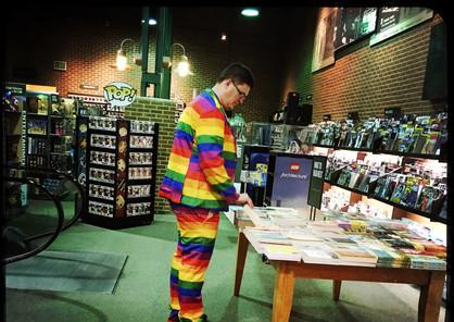 Color en la fábrica de libros