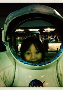 Como astronauta en el concierto the The