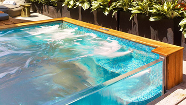 Acrylic Pool Features