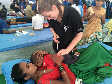 Chiropractic Mission trip in India
