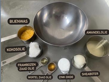 Homemade zonnenbrandcreme recipe