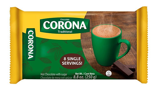 Corona Hot Chocolate with sugar