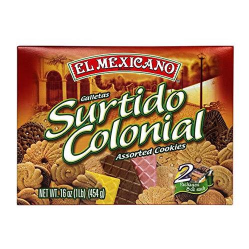 Surtido Colonial El Mexicano Assorted Cookies