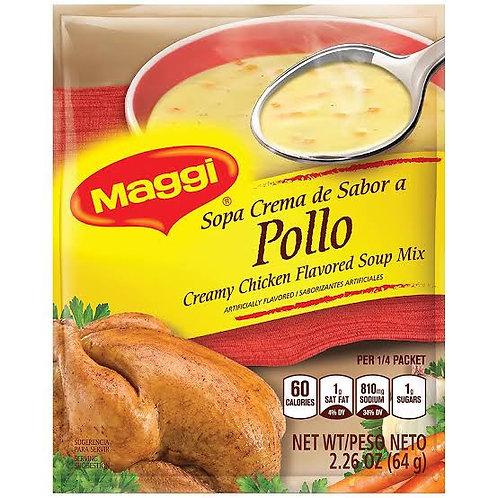 Creamy chicken flavored soup Maggi