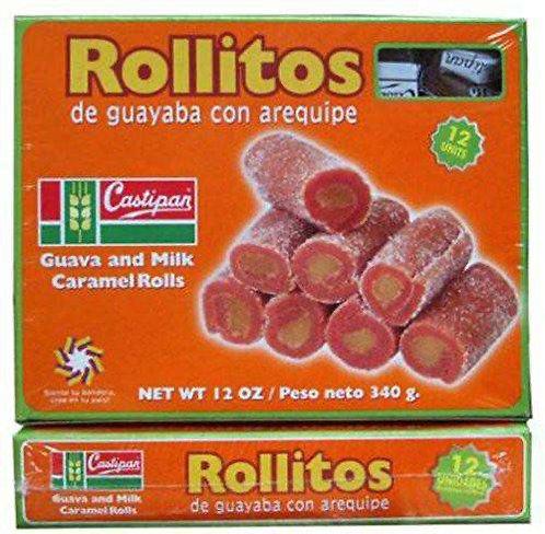Rollitos Guava and Milk