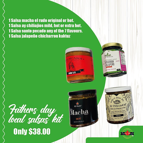 Father's Day Local Salsas Kit