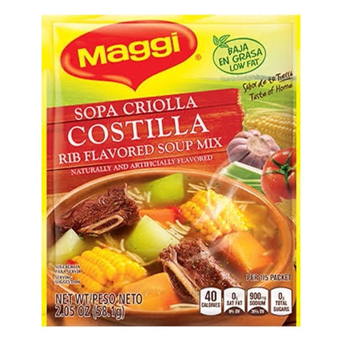 Sopa Criolla Rib Soup Maggi