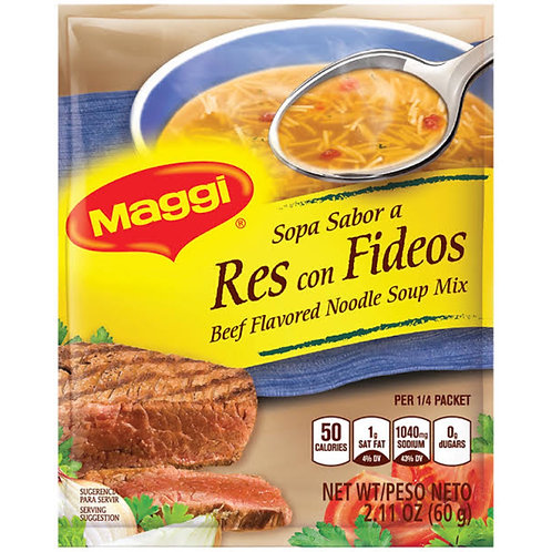 Beef flavored Noodle Soup Maggi