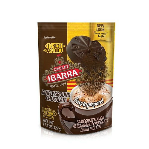 Chocolate Ibarra Polvo (ground chocolate) 327g