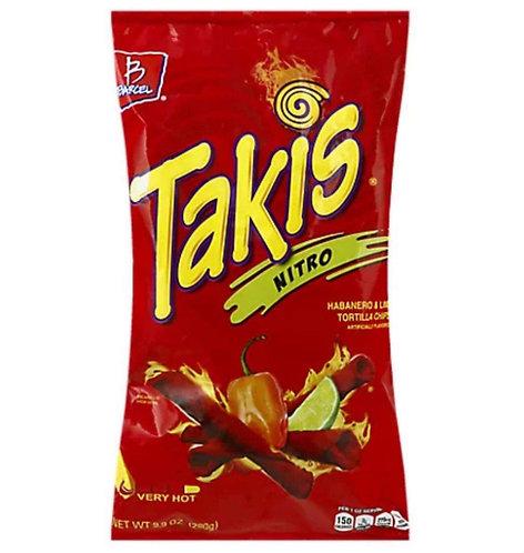 Takis Nitro Habanero & Lime