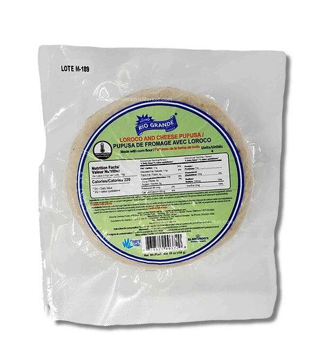 Loroco and cheese pupusas 4pc