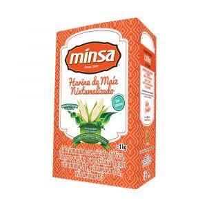 Minza Harina de Maiz Nixtamalizado 1kg