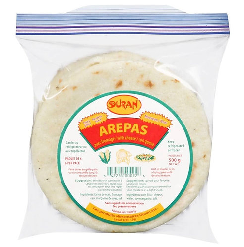Arepas with cheese Duran