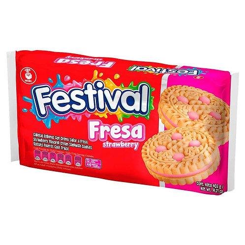 Galletas Festival de Fresa 403 g