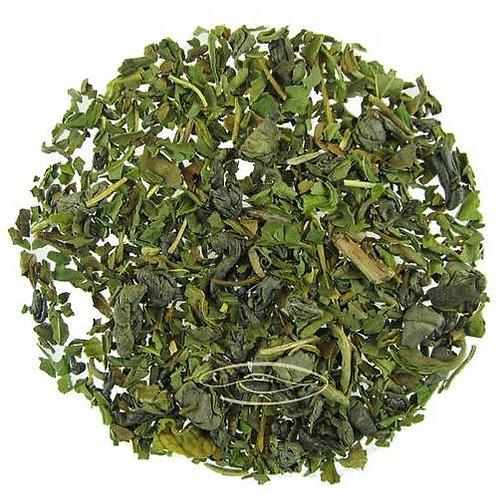 Gunpowder, Green Tea, Tisane, Peppermint, Herbal Blend