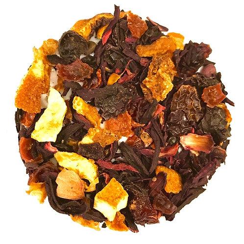 Fruit Tea, Blood Orange, Herbal Blend, Botanical