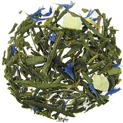 Pineapple, Papaya, Tropical Fruit Tea, Green Tea, Tisane, Fruity, Iced Tea