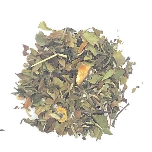 Tangerine, Delicate Tea, White Tea, Citrus Flavor, Tisane, Infusion