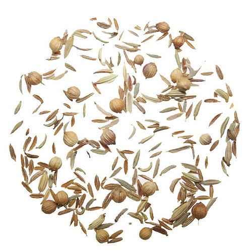 Ayurvedic Tea, Herbal Blend, Cumin, Coriander, Fennel Seed, Digestive