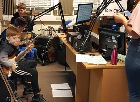 Kingsley Rocked the Radio last night!