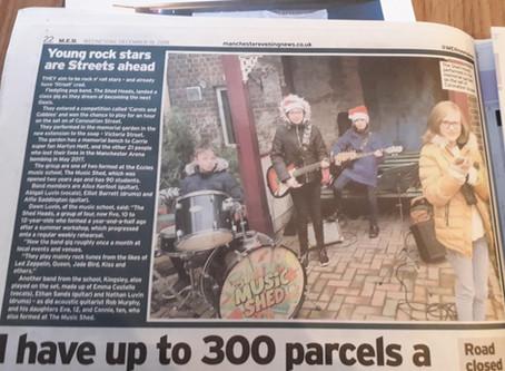 Coronation Street Carols!