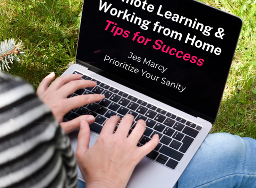 Successful Spaces and Routines for Remote Learning and Working from Home