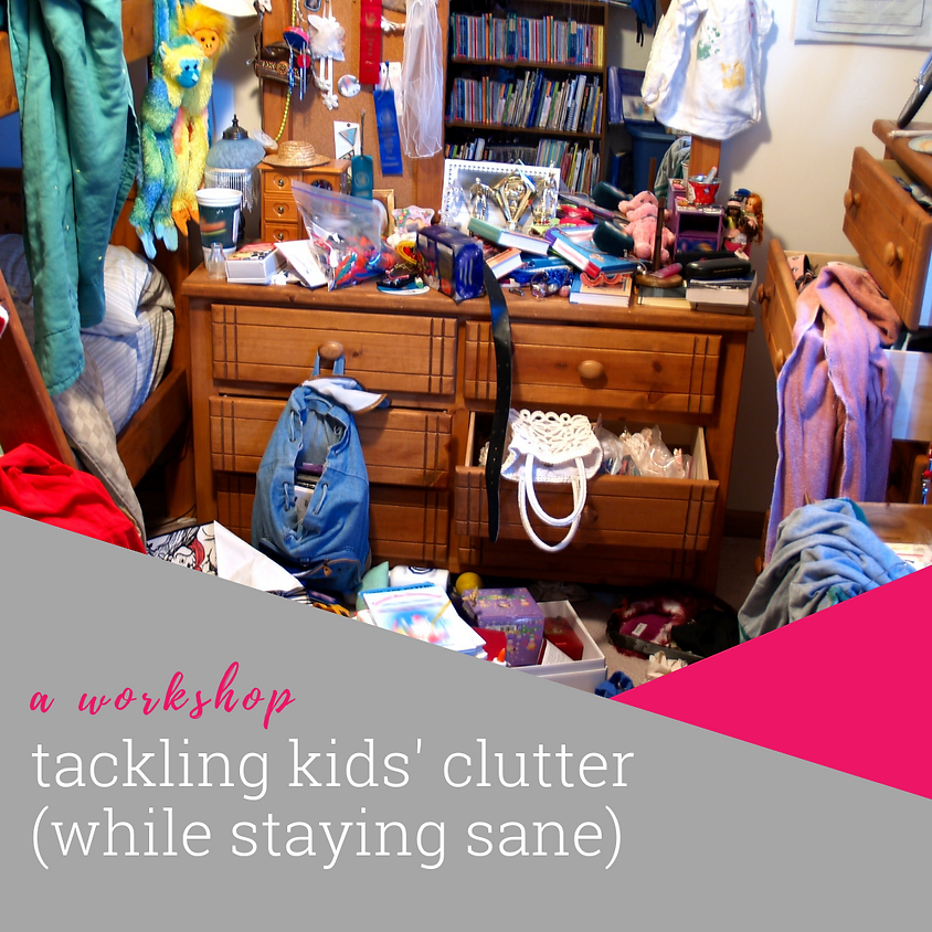 Tackling Kids' Clutter