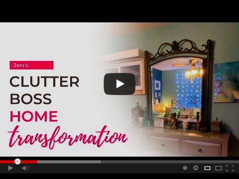 A Clutter Boss's Home Transformation Video