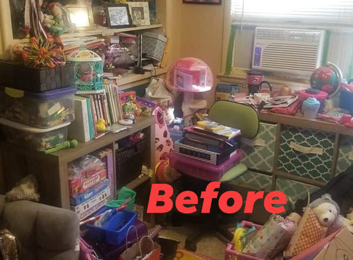 Space to heal: A mother & daughter's decluttering journey.