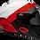 Thumbnail: BELL RACESTAR CARBON FLEX DLX - קסדת בל רייס-סטאר קרבון בטכנולוגיית פלקס