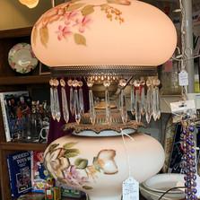 Victorian style lamp - vendor #6 - $89