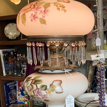 Victorian style lamp - vendor #6 - $119