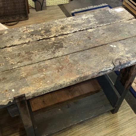 Rustic Potting Bench - vendor #18 - $45
