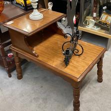 Mid-century Modern 2 Tier End Table - vendor #1 - $35