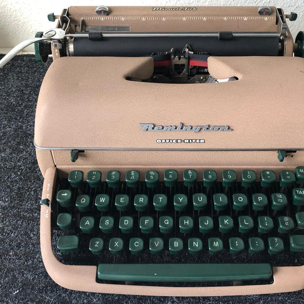 1957 Remington Office-Riter - $115