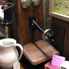 Antique Wall Telephone - vendor #49 - $195