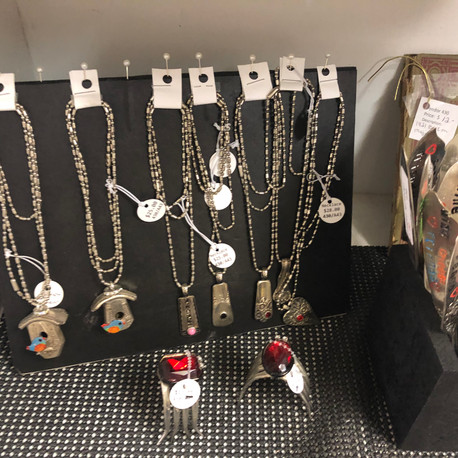 Handmade Silverware Jewelry