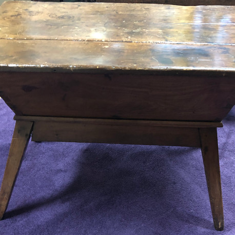 Primitive Antique Dough Table  Vendor #1 - $695
