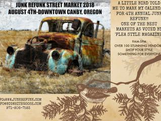 Junk Refunk Market Coming Soon
