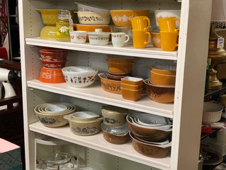 Did you say Pyrex? We have Pyrex!